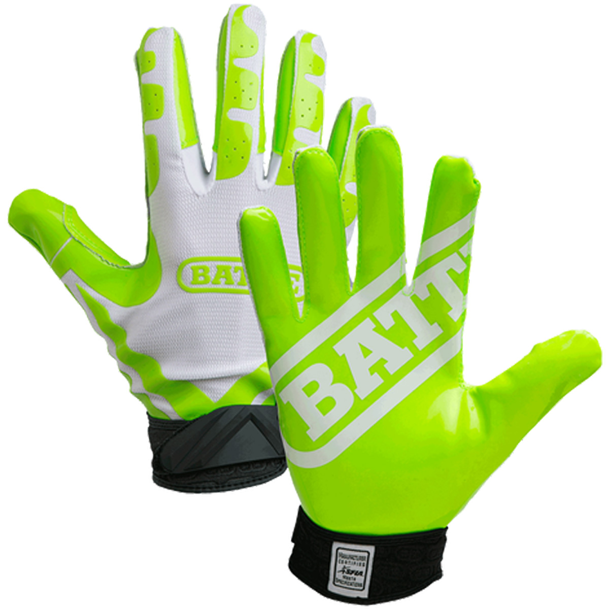 Battle Sports Science Ultra-Stick Adult Receivers Gloves ( 930X-A ) by Battle Sports Science