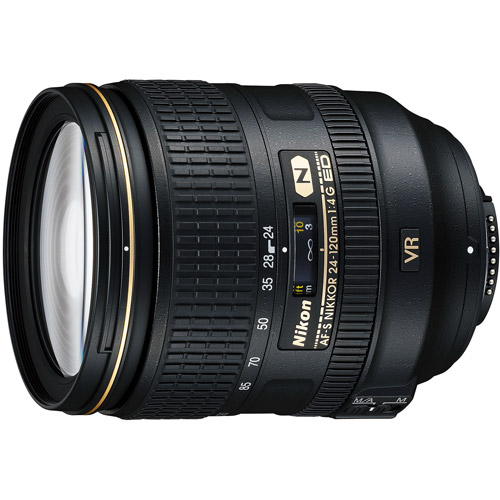 Nikon Nikkor IF 24-120mm f/4-22 SWM Standard Zoom Lens