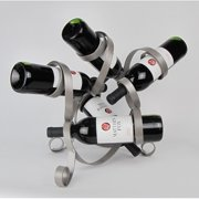 Metrotex Designs 5 Bottle Tabletop Wine Rack