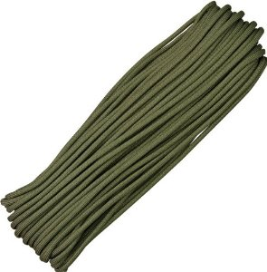 Parachute Cords 023H Parachute Cord Olive Drab Multi-Colored