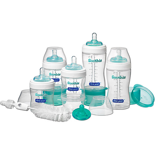 The First Years - Soothie Bottle Starter Set, BPA Free