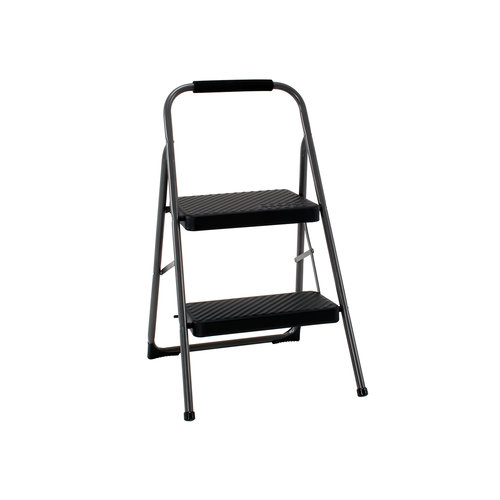 Cosco Folding Steel Step Stool 2 Step Walmart Com