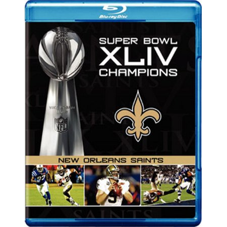 Super Bowl XLIV Champions: New Orleans Saints (Blu-ray) - Halloween Parties In New Orleans 2017