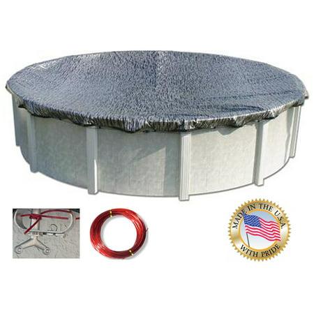 Oval Enviro Mesh (HPI 16 Ft. x 24 Ft. Oval ENVIRO MESH Above Ground Swimming Pool Winter Cover)