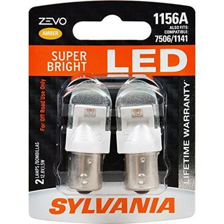 Baby Bullet Amber Led - SYLVANIA ZEVO 1156 Amber LED Bulb (Pack of 2)