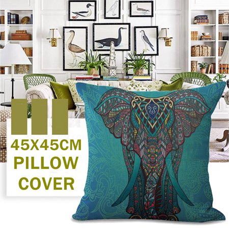 Products include:1x pillow caseName: pillowcaseMaterial: Cotton and linenProcess: printingSize: 45 * 45cmWeight: 100g - image 3 de 3