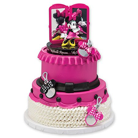 Minnie Mouse Bags Bows Amp Shoes Signature Cake Topper