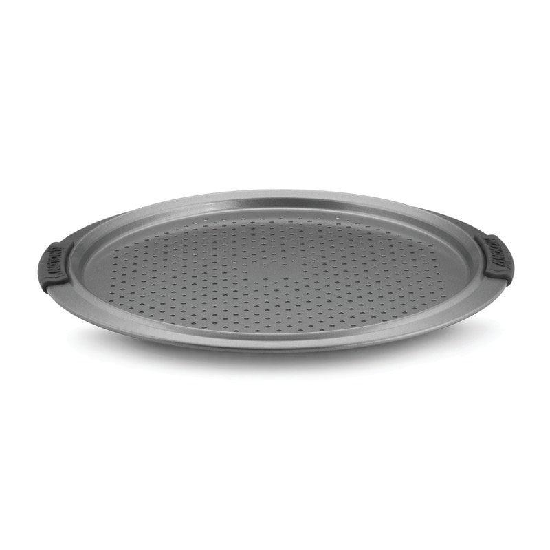Anolon Advanced Bakeware 13-Inch Pizza Crisper Gray by Anolon