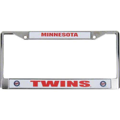 MLB - Minnesota Twins Chrome License Plate Frame