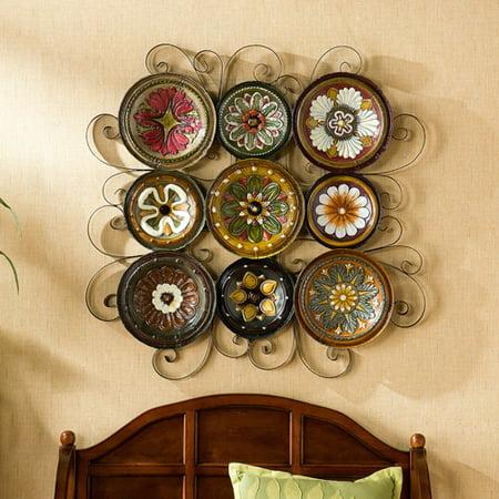 southern enterprises florence italian plates wall art