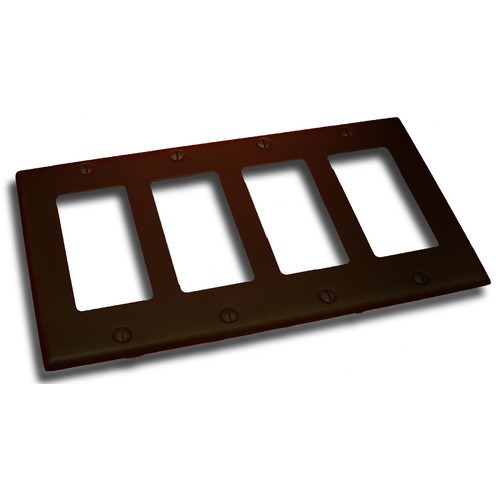 Residential Essentials Quadruple GFI Plate