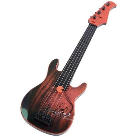 Lightahead Simulation Wood Color Guitar 23 Inch Junior Steel String Guitar Ukulele (Great Gift)