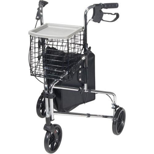 Drive Medical Winnie Deluxe 3 Wheel Walker Rollator