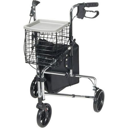 Drive Medical Winnie Deluxe 3 Wheel Rollator Walker