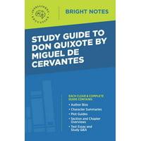 Bright Notes: Study Guide to Don Quixote by Miguel de Cervantes (Paperback)