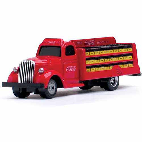 1:87 Scale 1938 Coca, Cola Bottle Truck, Red by Motor City Classics