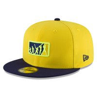 Tampa Bay Rays New Era 2018 Players' Weekend Team Umpire 59FIFTY Fitted Hat - Yellow/Navy