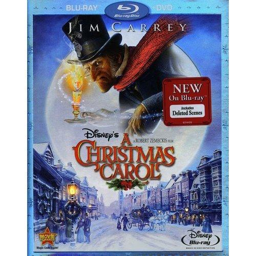 Disney's A Christmas Carol (Blu-ray + DVD) (Widescreen)
