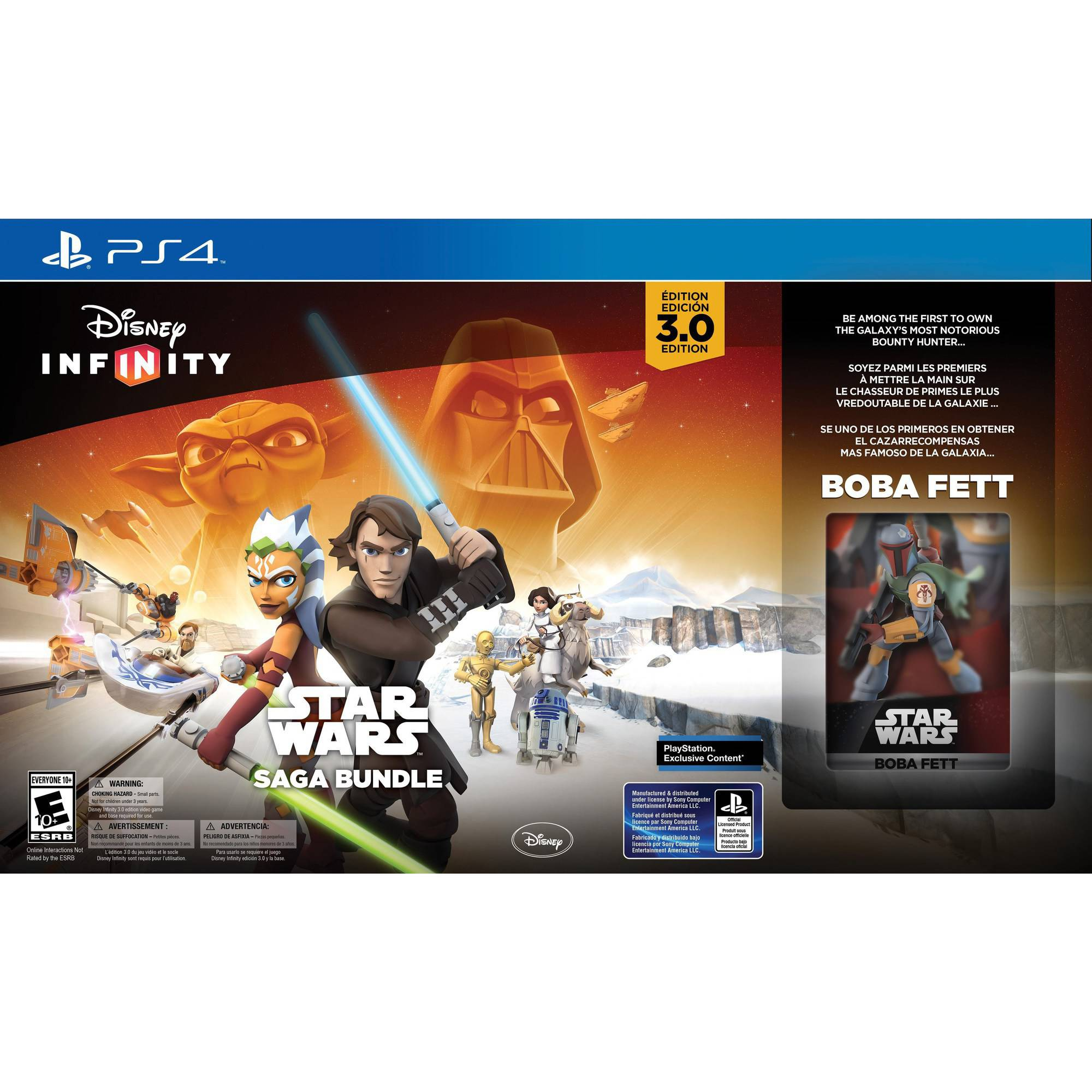 Disney Infinity 3.0 Star Wars Saga Bundle (PS4)