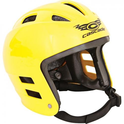 Cascade Helmets Full Ear Helmet Large Yellow CFE Y LG