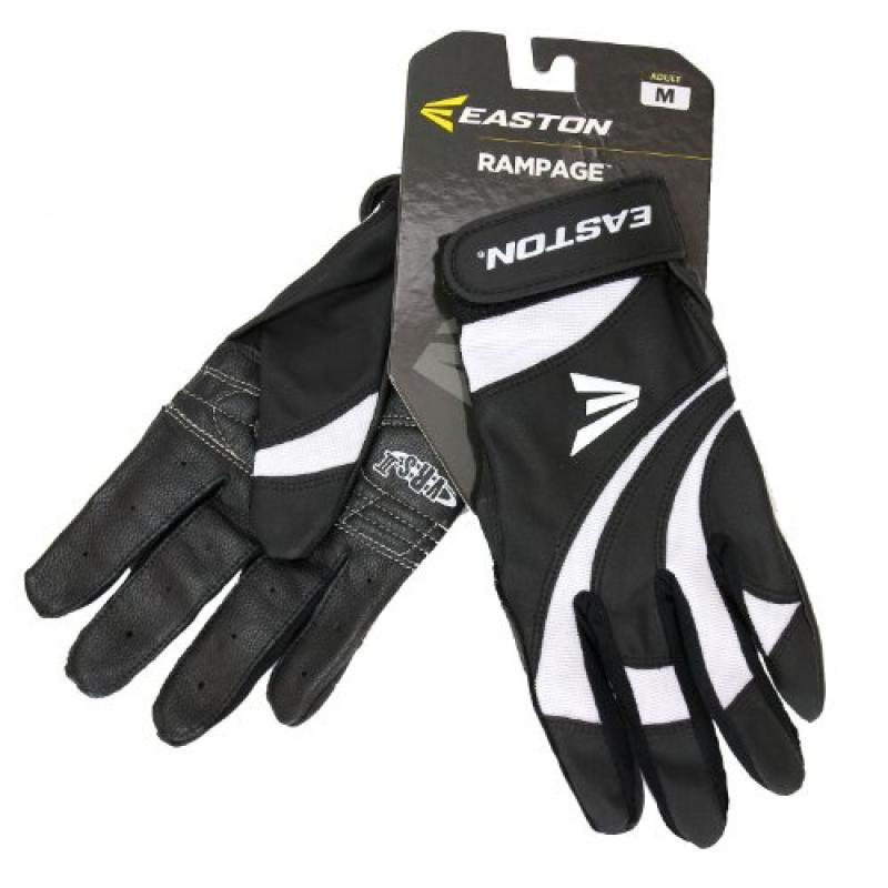 Easton Rampage Series Adult Batting Glove - Color: Black ...