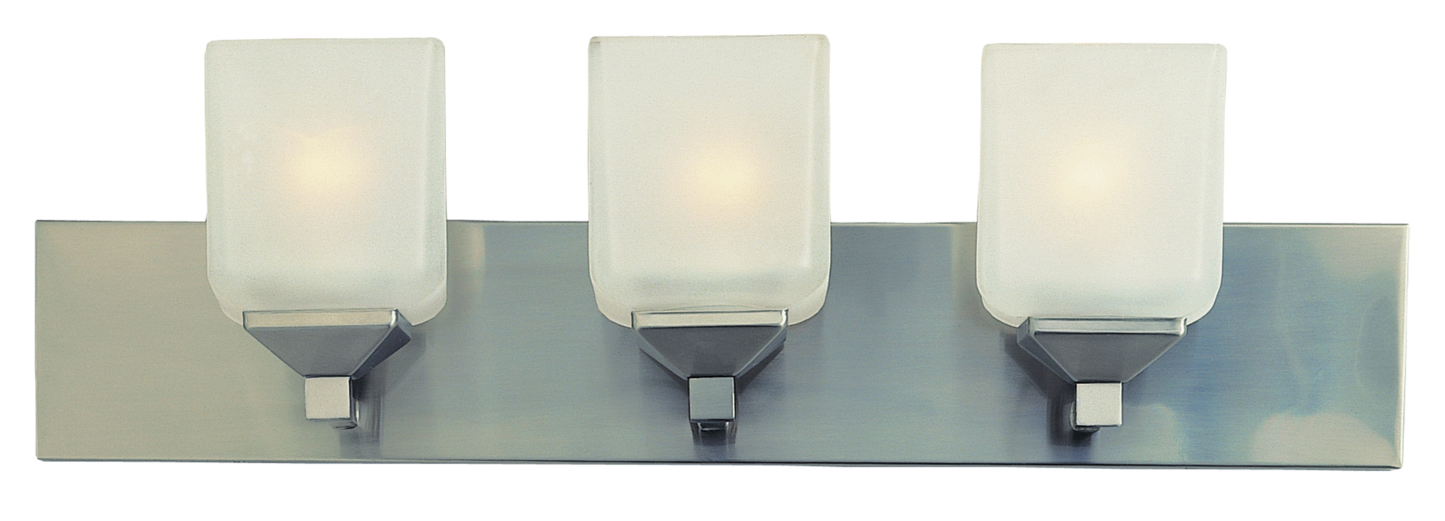 Bel Air Lighting Cb 2803 Pw 3 Light Pewter Cube Bath Bar