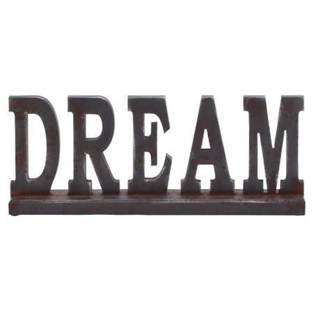 Woodland Imports Table Top Dream Letter Block