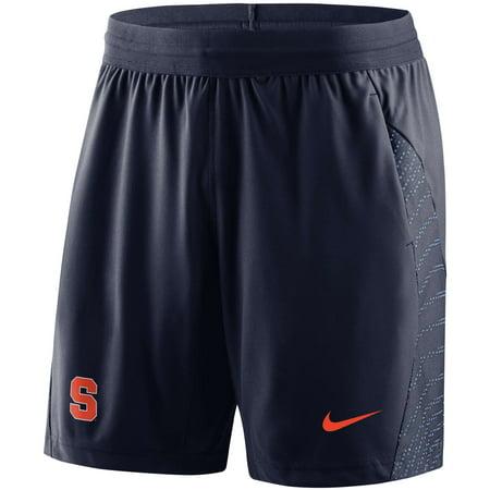 Syracuse Orange Nike Player 2018 Sideline Flyknit Performance Shorts - Navy - (Nike Air Max Thea Ultra Flyknit Bright Melon)