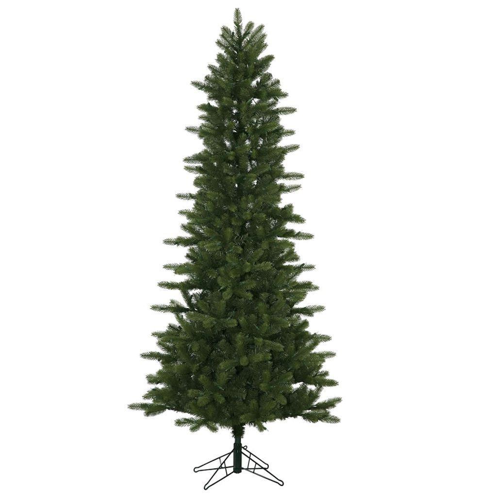 Vickerman Unlit 7.5' Kennedy Fir Slim Artificial Christmas Tree ...