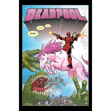 Deadpool - Unicorn Poster Print - Deadpool Posters