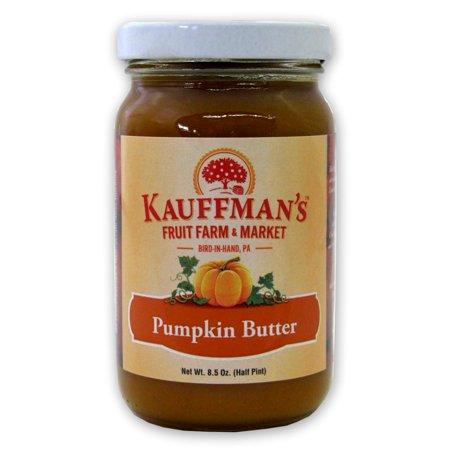 Homemade Pumpkin (Kauffman's Homemade Pumpkin Butter, 8.5 Oz. Jar (Pack of 2 Jars))