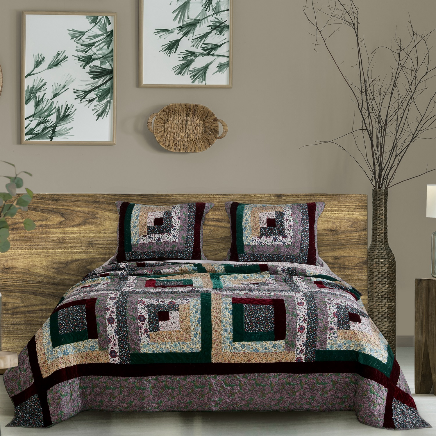 Global Trends Ponderosa Quilt Set