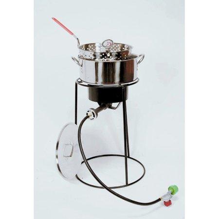 King kooker outdoor cooker fish fryer package for Fish fryer pot