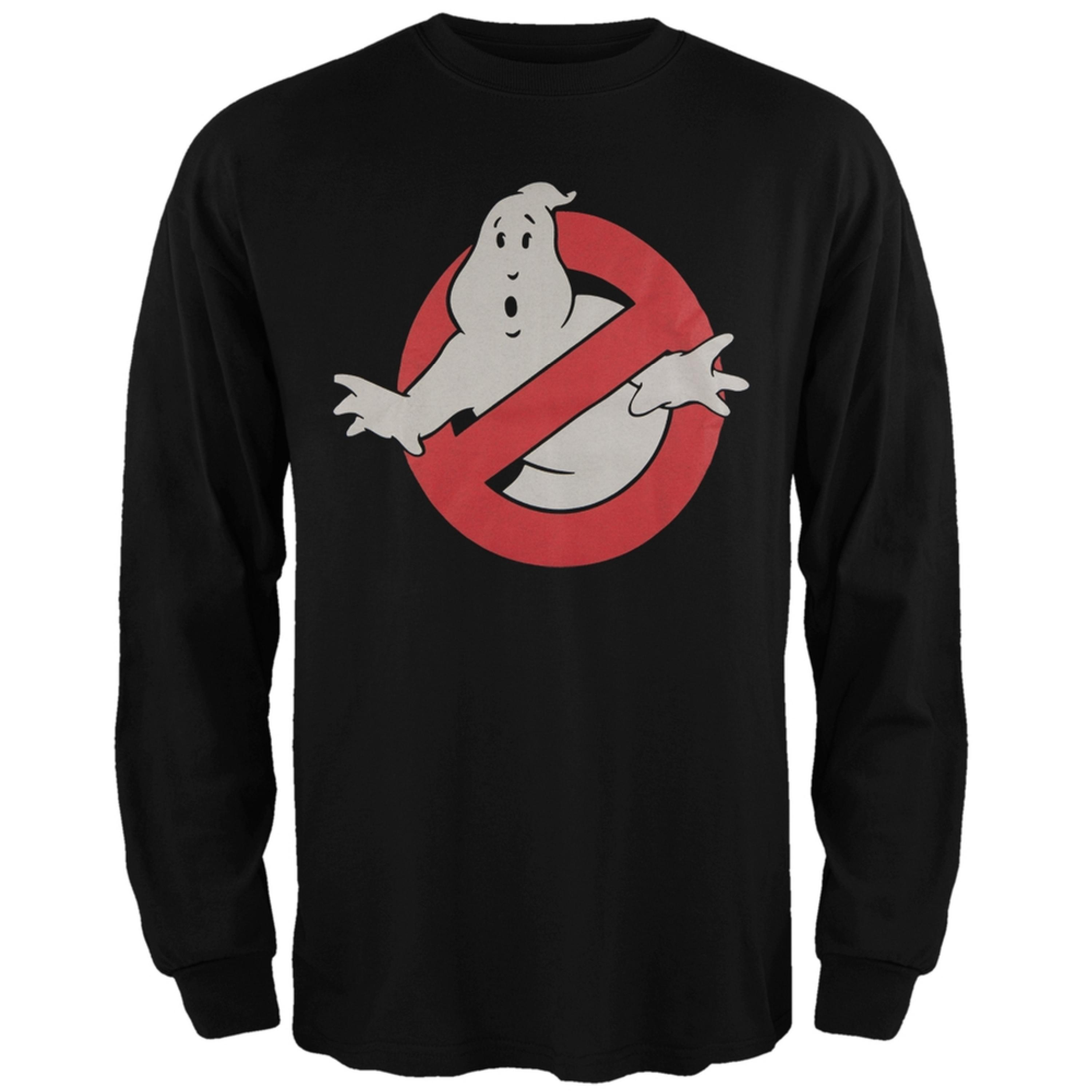 Ghostbusters - Ghost Logo Long Sleeve T-Shirt