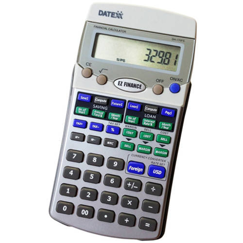 Datexx EZ Financial Calculator