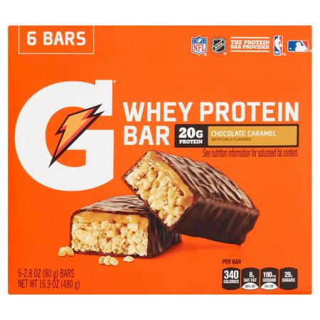 Gatorade Whey Protein Bar Chocolate Caramel Nutrition