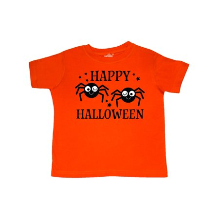 Happy Halloween Funny Spiders Costume Toddler T-Shirt