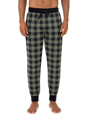 Fruit of the Loom Men's Knit Waffle Jogger Lounge Pant