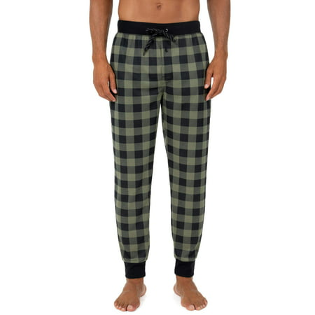 Fruit of the Loom Men's Knit Waffle Jogger Lounge Pant ()