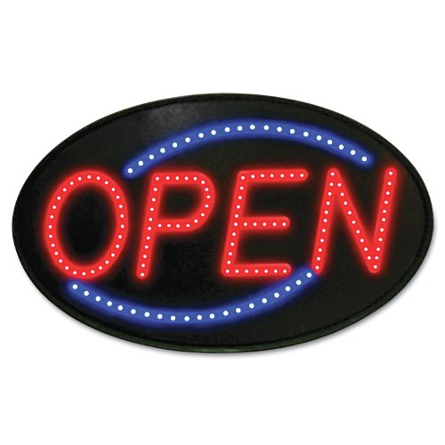 "U.s. Stamp & Sign Newton Led Sign - ""open"" - 21"" Width X 13"" Height (5583)"
