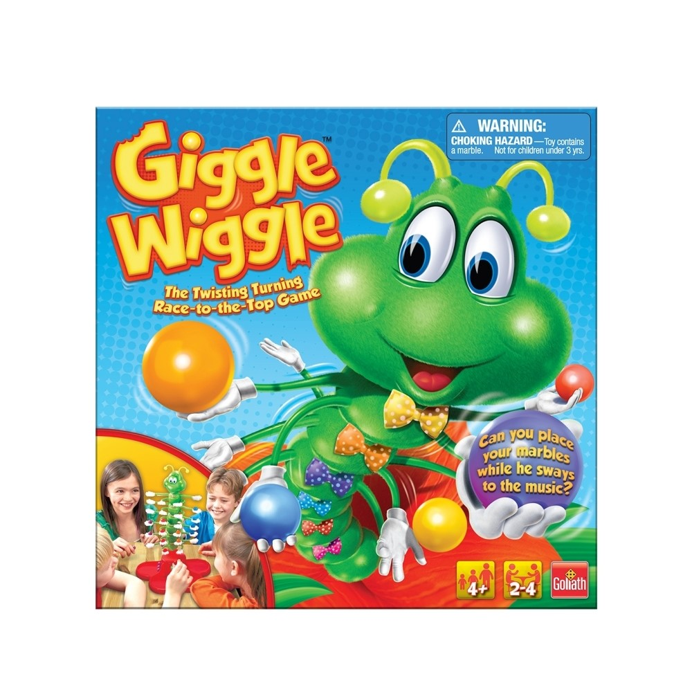 Giggle Wiggle Game, Family Games by Goliath Games