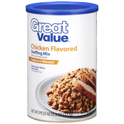 Great Value Chicken Flavored Stuffing Mix, 8 oz