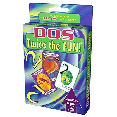 Dos Twice The Fun Card Game