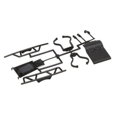 Ultima Set (Kyosho UM602 Ultima SC Bumper Skid Plate and Support Set )