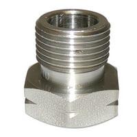 Regulator Inlet Nuts, Industrial Air, Brass, CGA-590