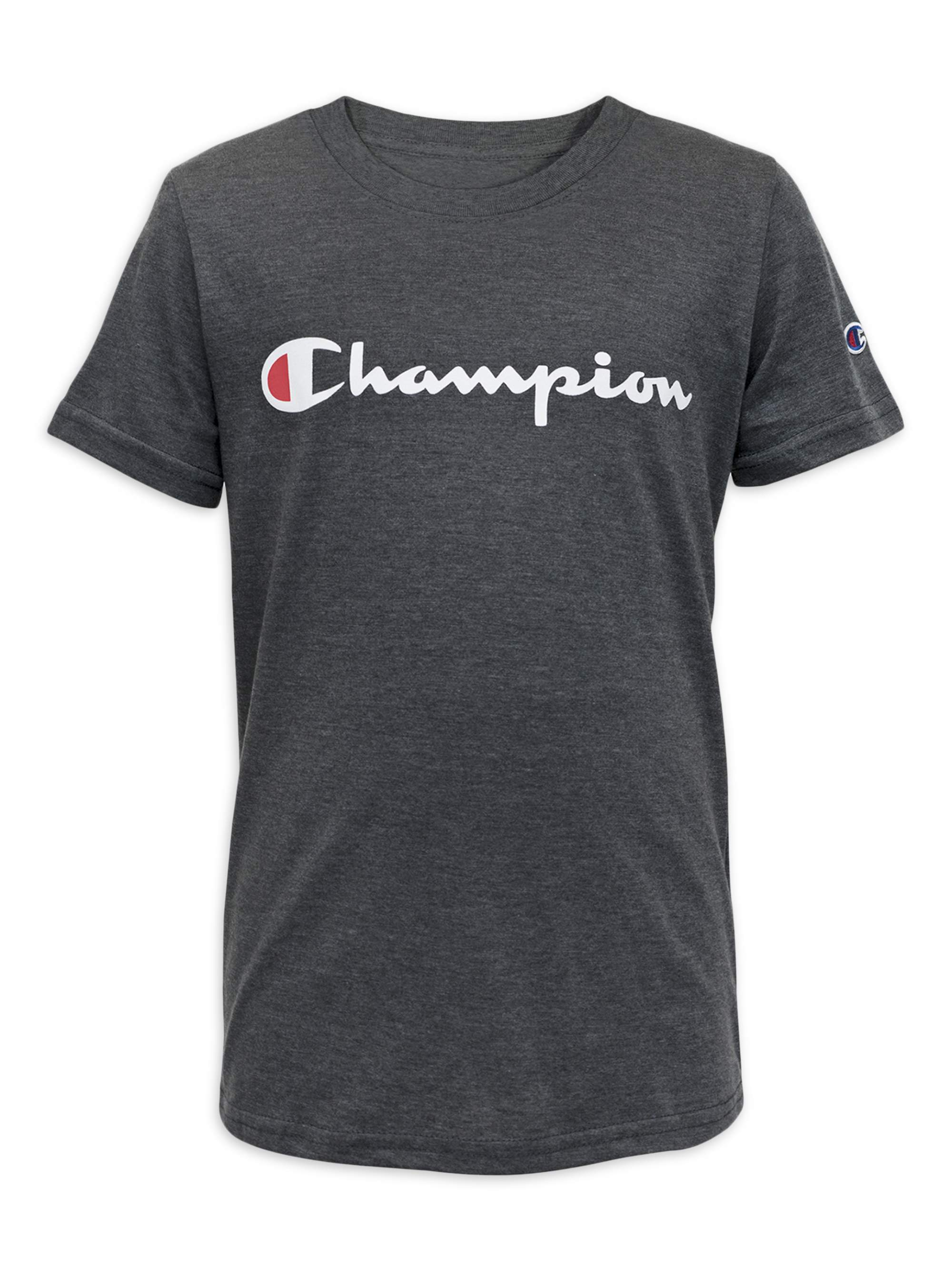 Champion - Champion Boys 8-20 Signature Short Sleeve Graphic Athletic  T-Shirt - Walmart