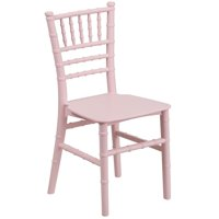 "24.75"" Pink Resin Kids Chiavari Chair"