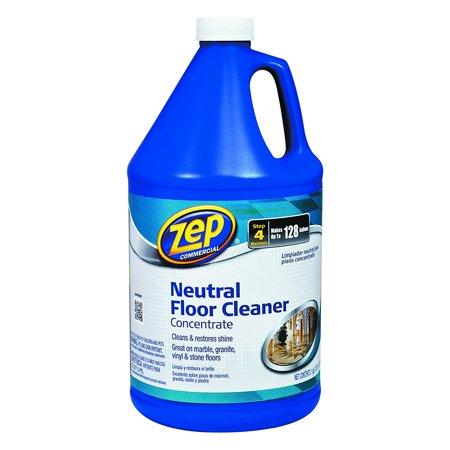 128 OZ. Neutral Floor Cleaner Concentrate ZUNEUT128, Gentle formula is perfect for sensitive surfaces By Zep 128 Oz Concentrate Bottle