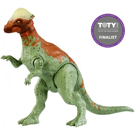 Jurassic World Battle Damage Pachycephalosaurus Dinosaur Figure