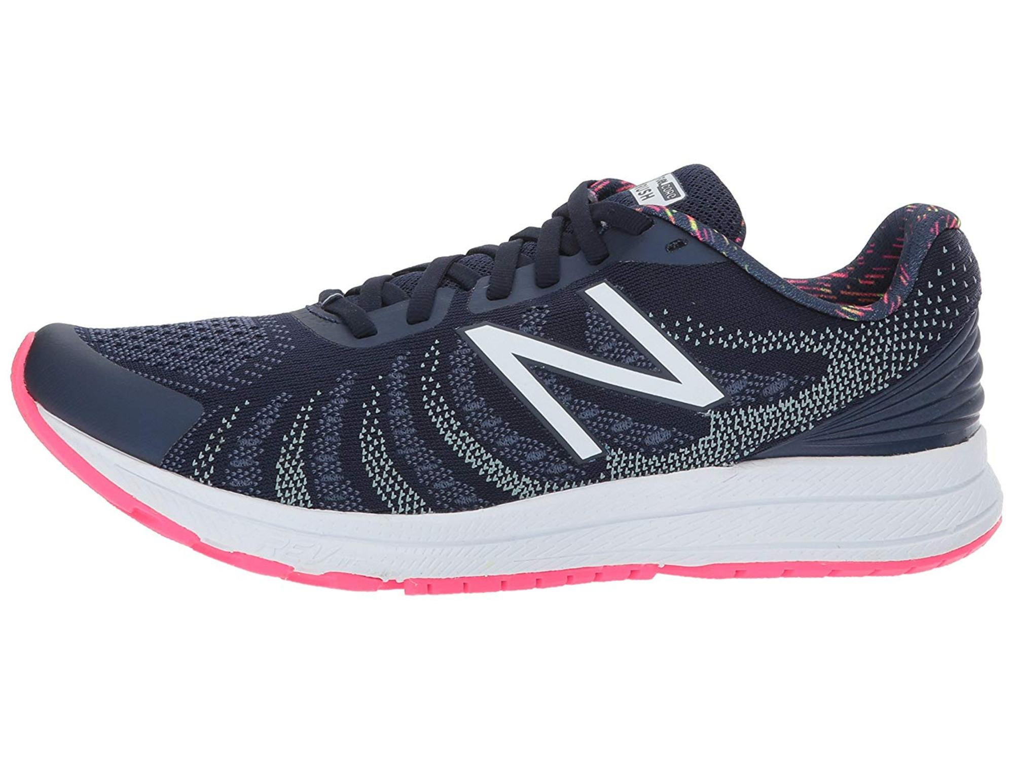 New Balance Womens Rushv3 Low Top Lace Up Running Sneaker by New Balance